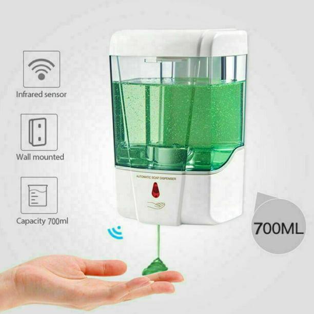 700ml Automatic Sanitizer Soap Dispenser Sensor Touchless Hands Free Wall Mounted Sensor Soap Dispenser Automatic Soap Dispenser Walmart Com Walmart Com