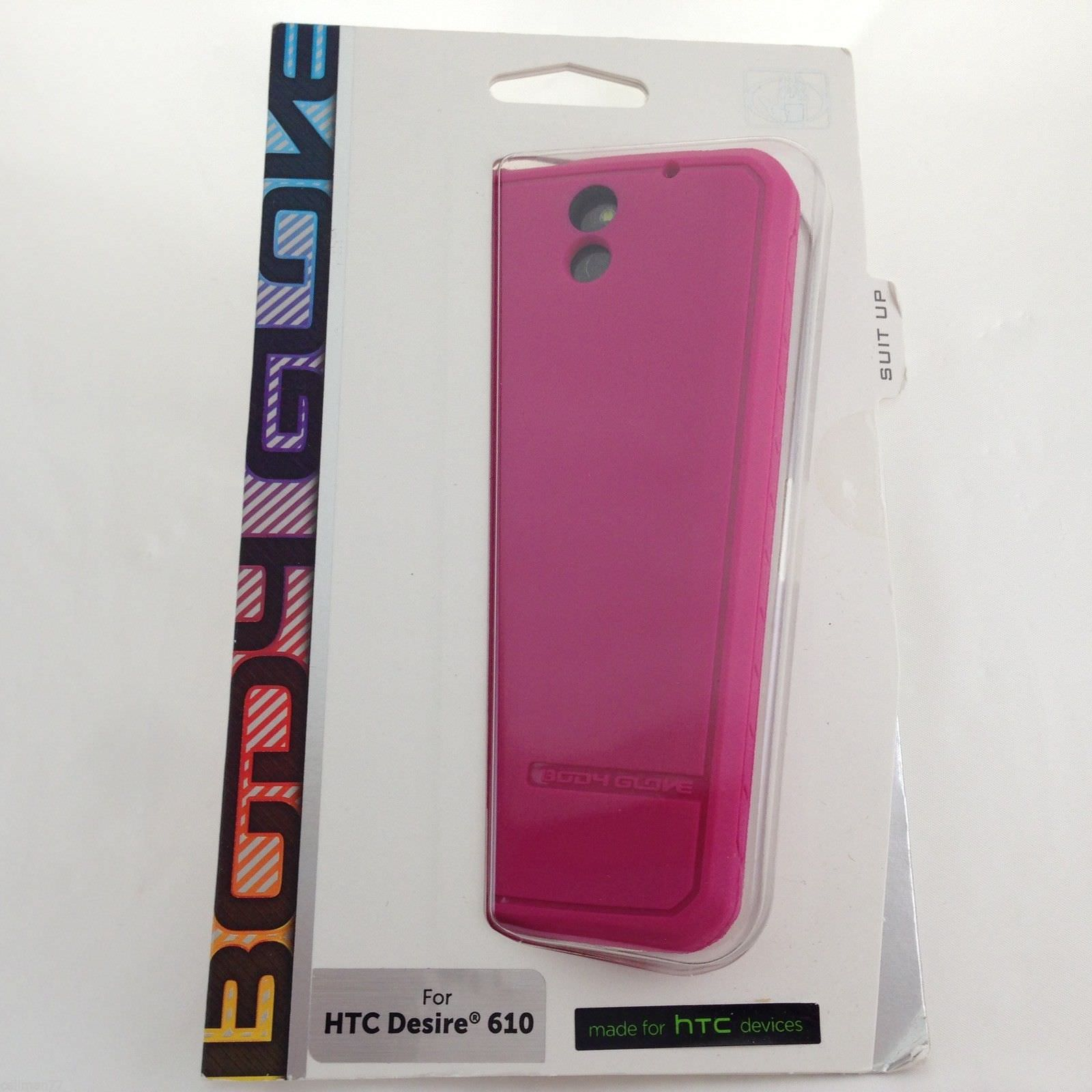 Body Glove Pink Satin Gel Case Ultra thin Impact Resistant - HTC Desire 610