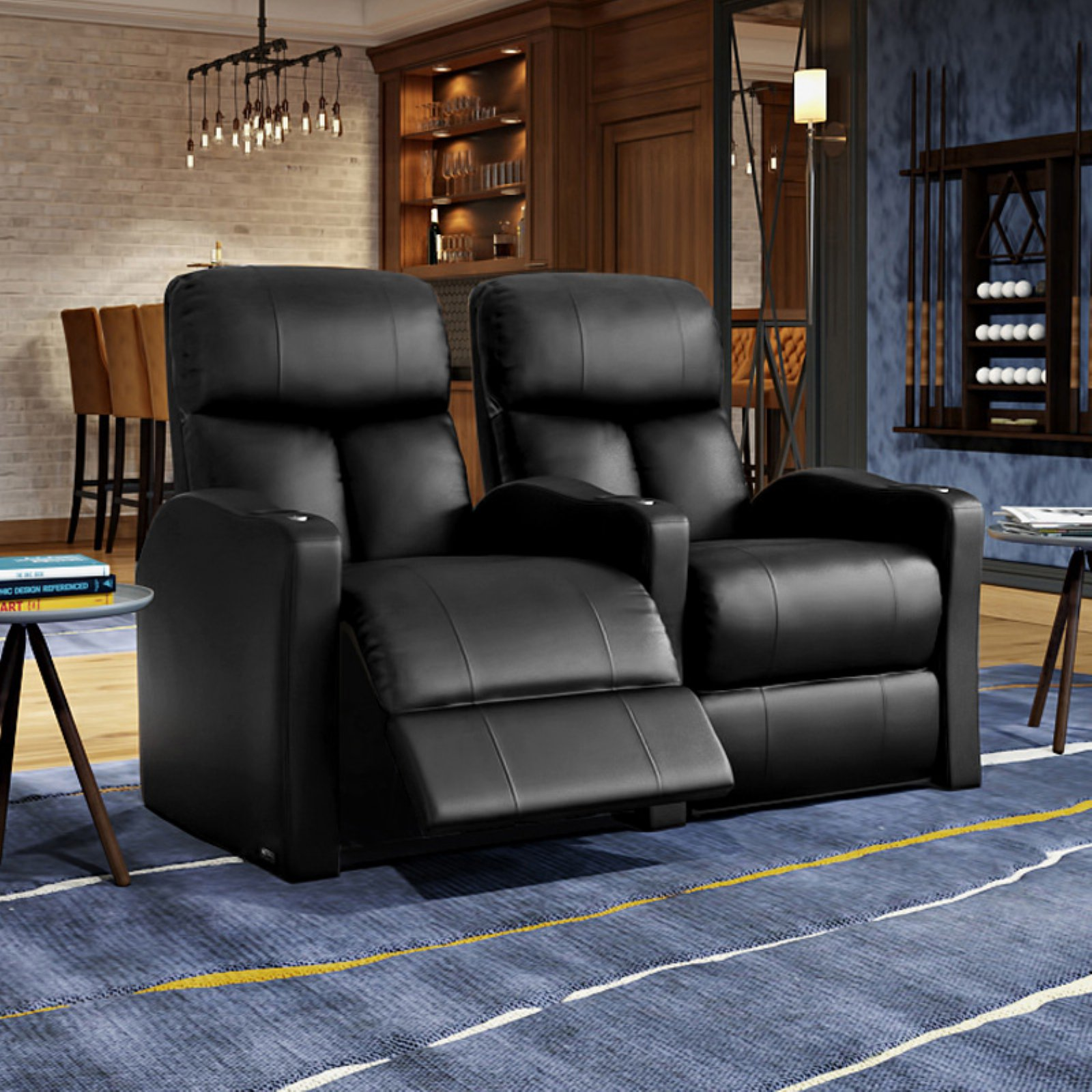 Octane Bolt XS400 2 Seater Power Recline Home Theater Seating