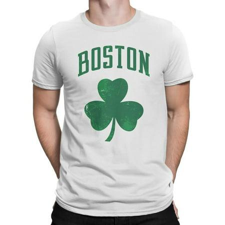 Boston Irish Shamrock Clover Tee T-Shirt Unisex Mens Vintage Retro - Shamrock Skirt