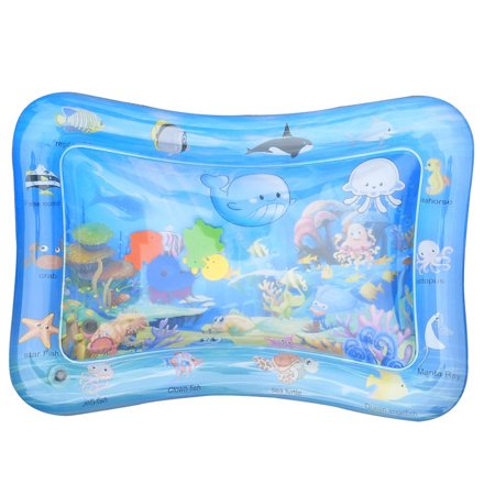 Inflatable Baby Water Mat, Tummy Time Premium Water Mat Perfect Fun Time Play Activity Center Water Filled Infants Toddlers Play (Best Deal On Sonos Play 5)