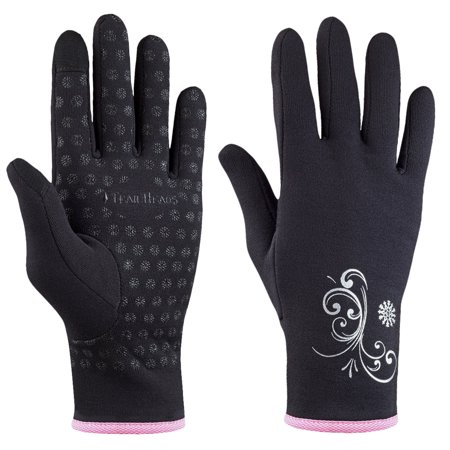 Power Stretch Glove (trailheads power stretch women's running gloves - black / fast)