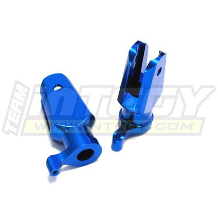 Integy RC Toy Model Hop-ups C22515BLUE Precision Alloy Main Rotor Holder for Align T-Rex - Align T-rex Tail Rotor