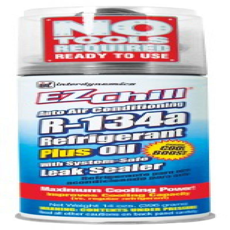 Interdynamics (SD-134CA) EZ Chill R-134a Refrigerant with Oil and Leak Sealer - 13 oz.