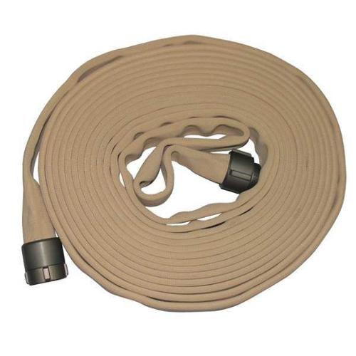 ARMORED TEXTILES G52H3HDT50N Supply Line Fire Hose,50 ft. L,Tan