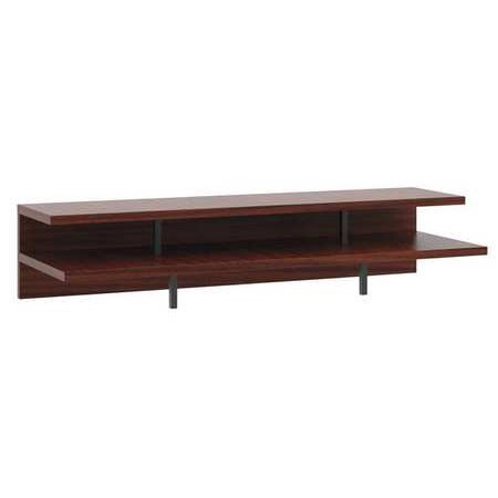 Basyx By Hon Hmng36stdm C1 A1 Worksurface Stadium Shelves 36 In Chstnt G0277019