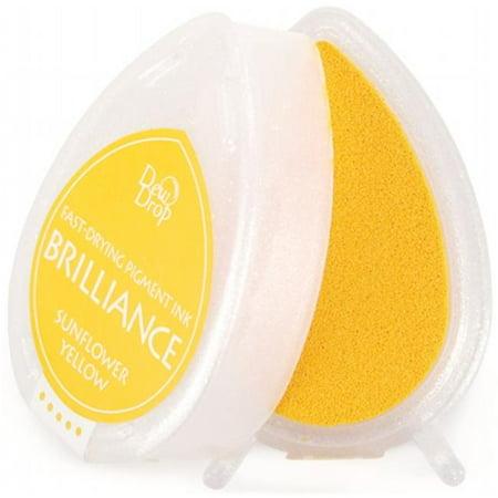 Brilliance Dew Drop Pigment Ink - Tsukineko BD000-11 Brilliance Dew Drop Pigment Inkpad