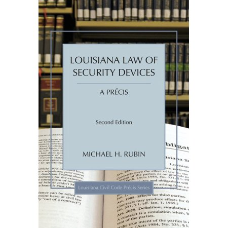 Louisiana Law Of Security Devices