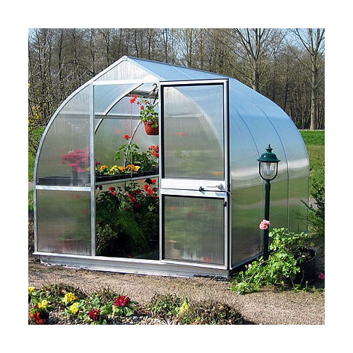 Hoklartherm Riga III 10.5 Ft. W x 10.5 Ft. D Polycarbonate Greenhouse