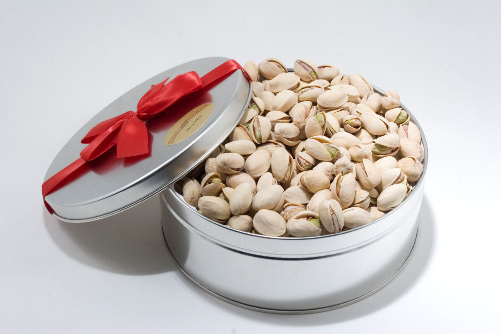 20oz Colossal California Pistachios Gift Tin by