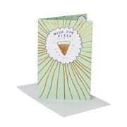 American Greetings Pop-Up Birthday Card with Music (Pizza)