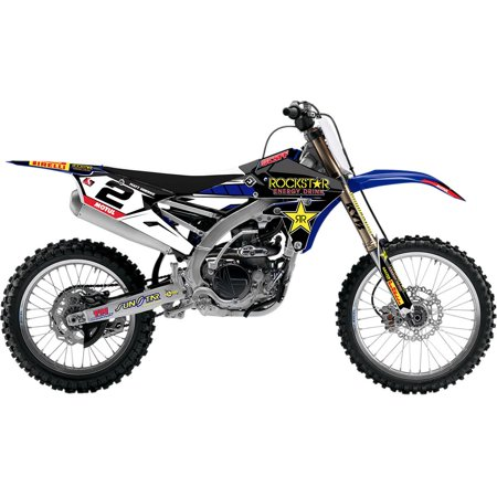 FLU Designs Inc. 71084 Rockstar Pro Team 2018 Series 3 PTS2 Graphic Kit (Series Graphic Kit)