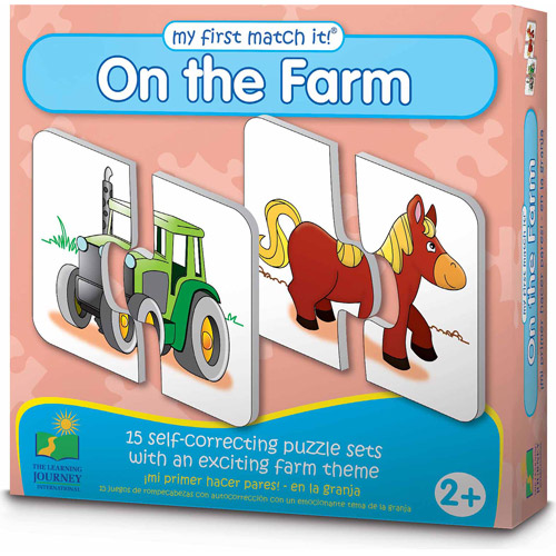 The Learning Journey My First Match It! On the Farm