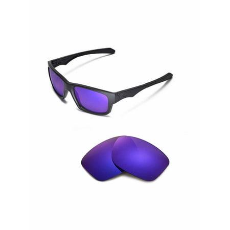 Walleva Purple Polarized Replacement Lenses For Oakley Jupiter Squared Sunglasses ()