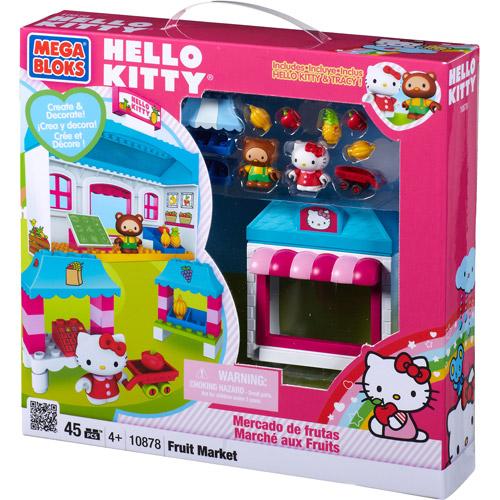 Mega Bloks Hello Kitty Fruit Market Play Set