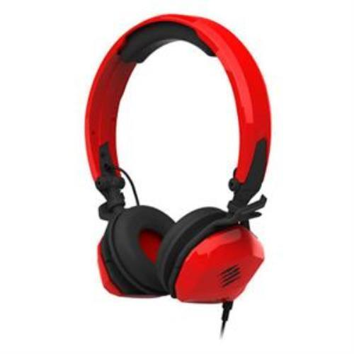 Madcatz Saitek Freqm Wired Headset Red With Two Unique In-Line Cables by