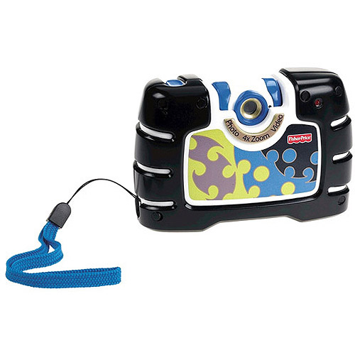 Fisher-Price Kid-Tough See Yourself Camera, Black