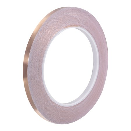 Single-sided Conductive Tape Copper Foil Tape 6mm x 30m(98ft)