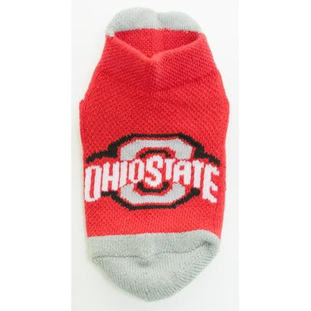 Ohio State Buckeyes Baby Footie Sock
