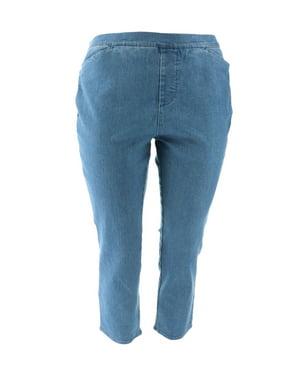 Liz Claiborne NY Hepburn Pull-on Slim Leg Jeans A261386