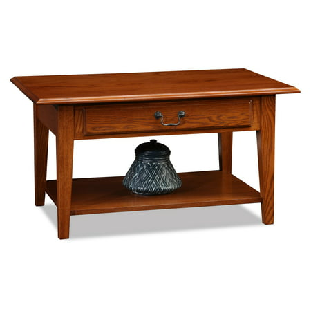 Miraculous Leick Home Shaker Style Wood Drawer Coffee Table Multiple Colors Home Interior And Landscaping Fragforummapetitesourisinfo
