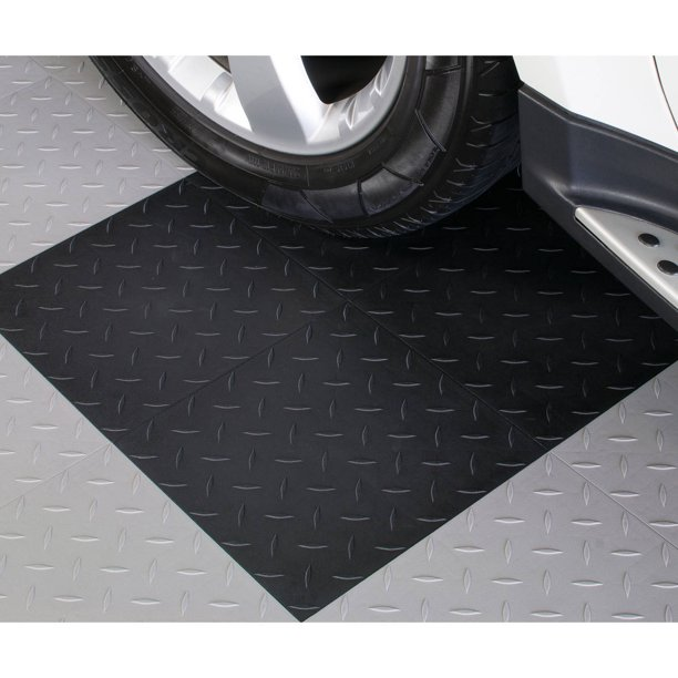Blocktile Garage Flooring Diamond Top