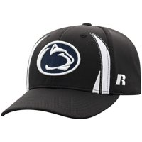 34dc1a79bb59c7 Product Image Men's Russell Black Penn State Nittany Lions React Adjustable  Hat - OSFA