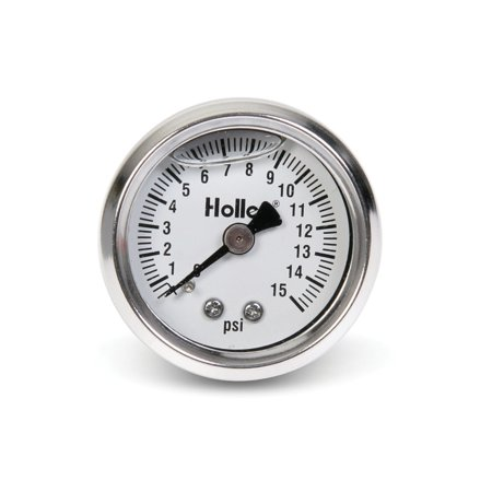 Holley Performance 26-504 Fuel Pressure Gauge Holley Fuel Pressure Gauge