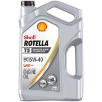 Shell Rotella T5 15W-40 Synthetic Blend Diesel Engine Oil, 1 gal