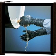 Butyl Gloves Smooth Curved Hand