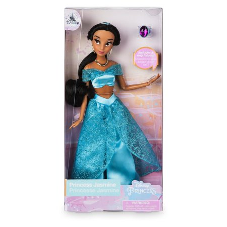 Disney Princess Jasmine Classic Doll with Ring New with Box - Princess Jasmine Inspired Outfit