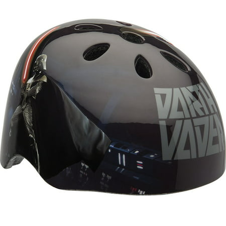 Disney Star Wars Darth Vader with Lightsaber Multisport Youth Helmet, Black