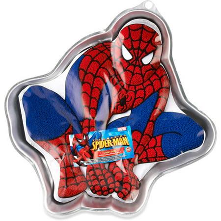 Amazing Spider Man Cake Pan Aluminum Walmart Com