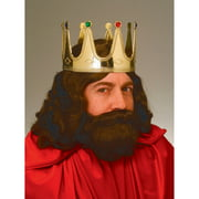 King Adult Crown Halloween Costume Accessory
