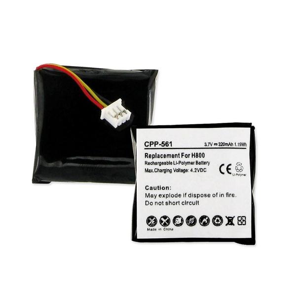 CPP-561 LI-POL Battery - Rechargeable Ultra High Capacity (LI-POL 3.7V 320mAh) - Replacement For Logitech 533-000067 Cordless Phone Battery