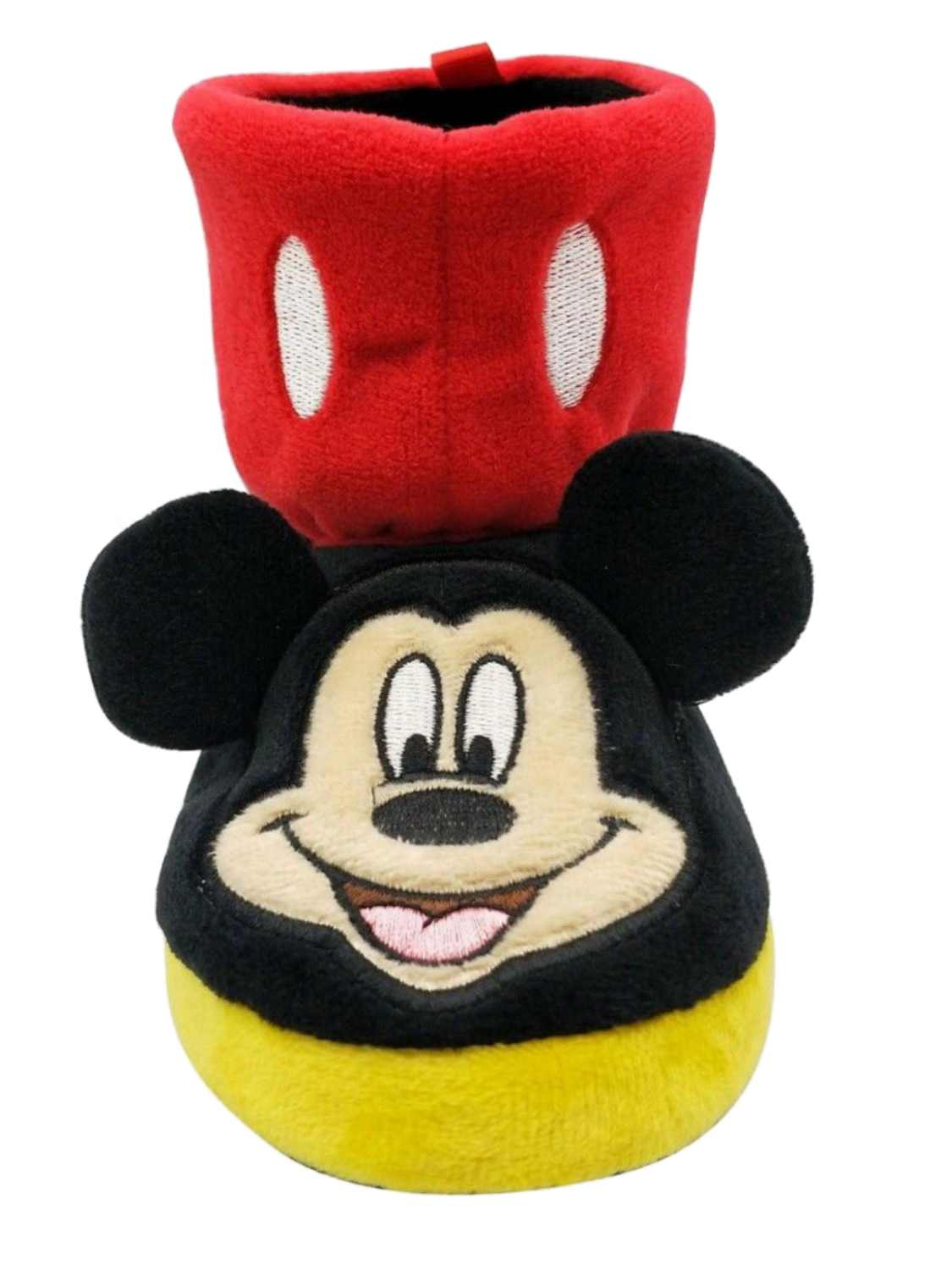 Red Mickey Mouse Slippers Boots