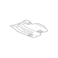 Genuine OE GM Skid Plate 20944322