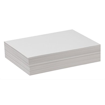 Pacon Drawing Paper, Standard Weight, 12 x 18 Inches, 500 Sheets, White (4742)