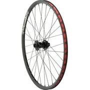 """DMR Pro 26"""" Front Wheel, 20mm 6-Bolt Disc 32h Black"""