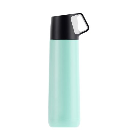Sports Water Bottle Cool Handle Stainless Steel Cup Insulated Mug Vacuum School ()
