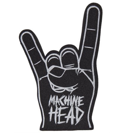 - Logo Metal Sign Foam Finger, Officially Licensed Merchandise By Machine Head From USA