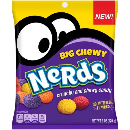 NERDS Big Chewy Candy 6 oz  Bag