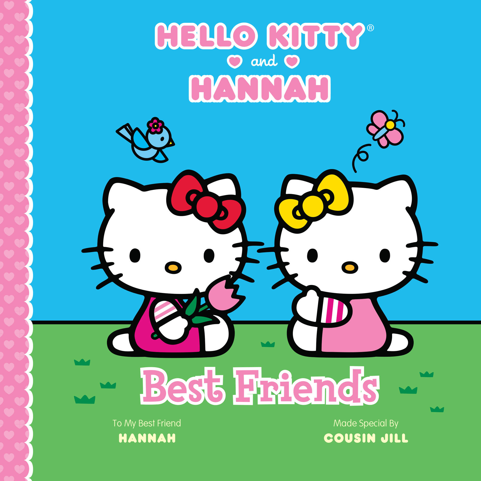 Best Friends: Hello Kitty Personalized Paperback Book