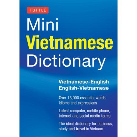 Tuttle Mini Vietnamese Dictionary : Vietnamese-English/English-Vietnamese Dictionary