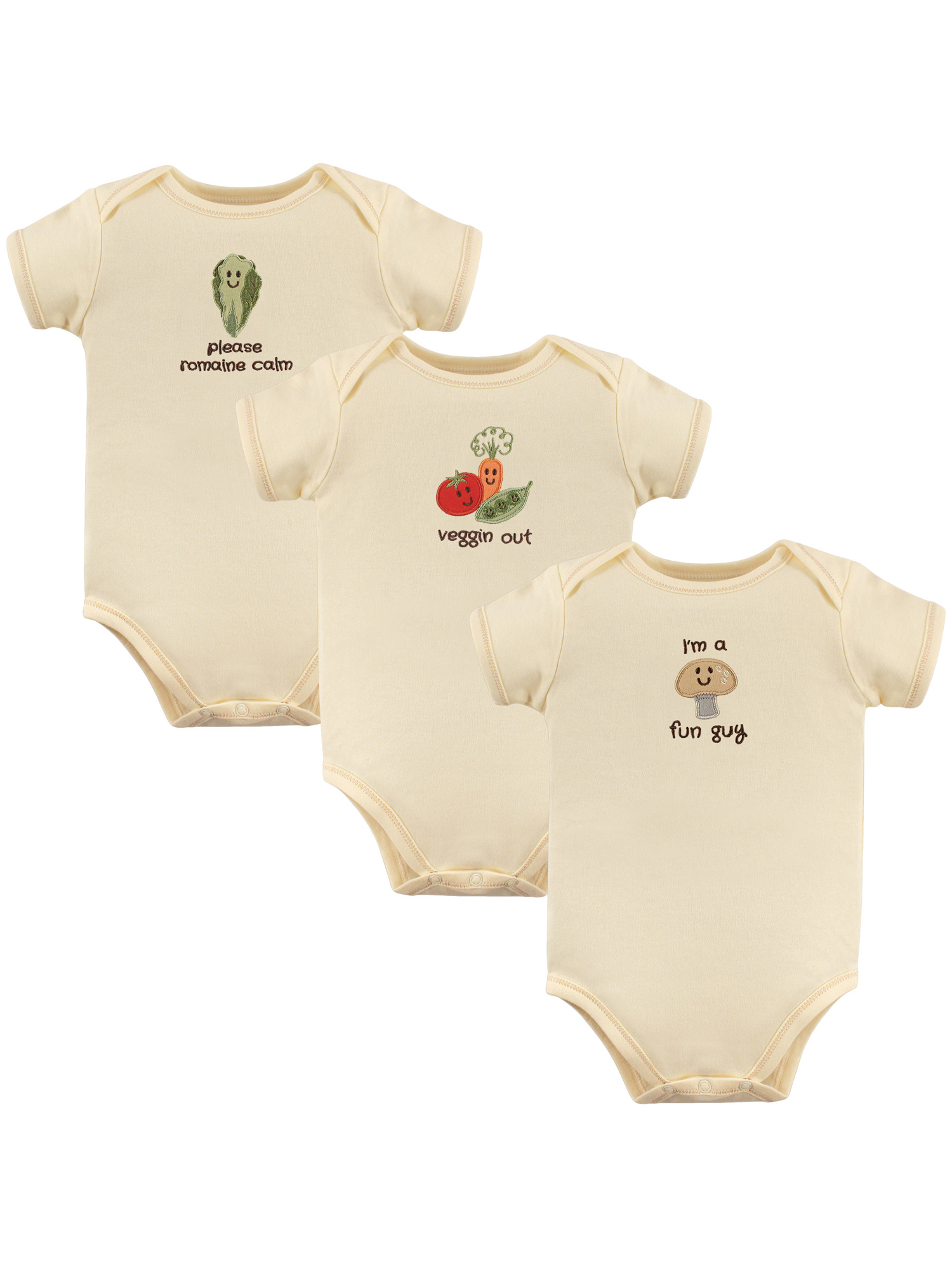 Touched by Nature Unisex-Baby Organic Cotton Gowns