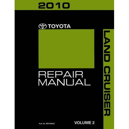 Bishko OEM Repair Maintenance Shop Manual Bound for Toyota Land Cruiser Volume 2 Of 4 2010