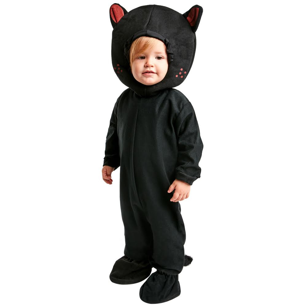 Toddler Classic Black Cat Costume  sc 1 st  Walmart : toddler boy cat costume  - Germanpascual.Com