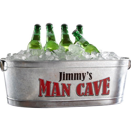 Personalized Man Cave Beverage Tub