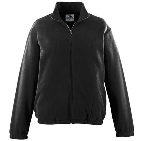 Augusta Chill Fleece Full Zip Jacket Black S - image 1 de 1