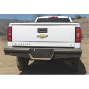 Steelcraft Automotive HD20410 STCHD20410 11-16 SILVERADO 2500/3500 REAR BUMPER REPLACEMENT 4IN PIPE STYLE LINE
